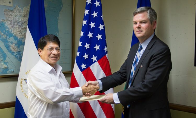 Ambassador Sullivan presents credentials